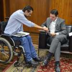 Barilon é recebido pelo presidente da Alesp